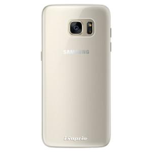 Silikonové pouzdro iSaprio 4Pure mléčné bez potisku na mobil Samsung Galaxy S7 Edge