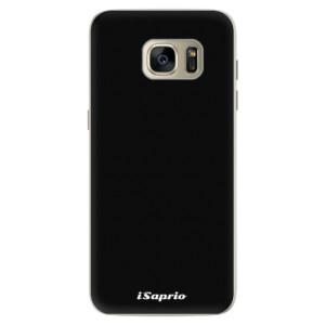 Silikonové pouzdro iSaprio 4Pure černé na mobil Samsung Galaxy S7 Edge