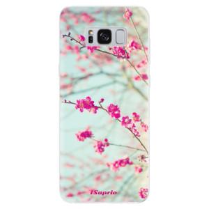 Silikonové pouzdro iSaprio (mléčně zakalené) Blossom 01 na mobil Samsung Galaxy S8
