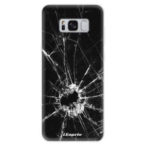 Silikonové pouzdro iSaprio (mléčně zakalené) Broken Glass 10 na mobil Samsung Galaxy S8