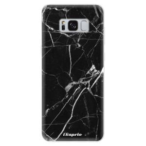 Silikonové pouzdro iSaprio (mléčně zakalené) Black Marble 18 na mobil Samsung Galaxy S8