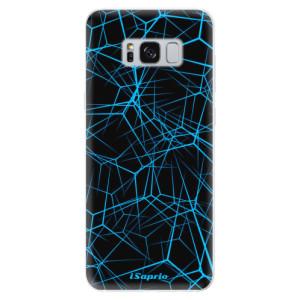 Silikonové pouzdro iSaprio (mléčně zakalené) Abstract Outlines 12 na mobil Samsung Galaxy S8