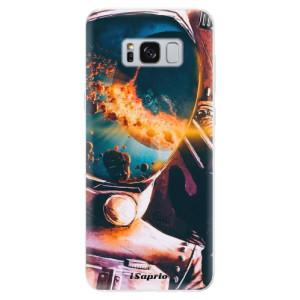 Silikonové pouzdro iSaprio (mléčně zakalené) Astronaut 01 na mobil Samsung Galaxy S8