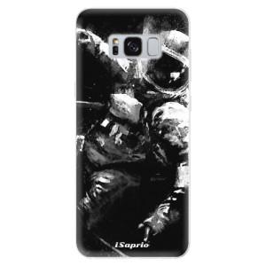 Silikonové pouzdro iSaprio (mléčně zakalené) Astronaut 02 na mobil Samsung Galaxy S8