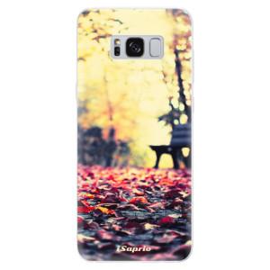 Silikonové pouzdro iSaprio (mléčně zakalené) Bench 01 na mobil Samsung Galaxy S8