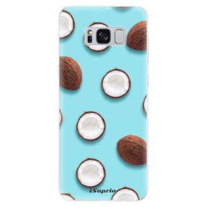 Silikonové pouzdro iSaprio (mléčně zakalené) Kokos 01 na mobil Samsung Galaxy S8