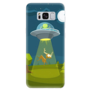 Silikonové pouzdro iSaprio (mléčně zakalené) Ufouni 01 na mobil Samsung Galaxy S8