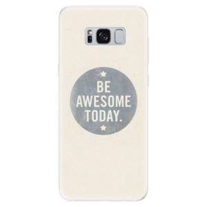 Silikonové pouzdro iSaprio (mléčně zakalené) Awesome 02 na mobil Samsung Galaxy S8