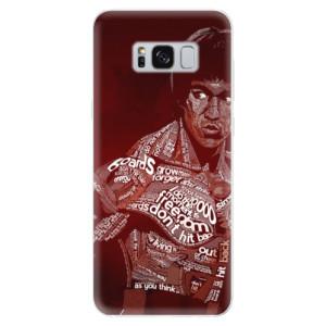 Silikonové pouzdro iSaprio (mléčně zakalené) Bruce Lee na mobil Samsung Galaxy S8