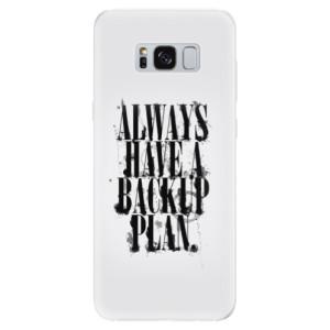 Silikonové pouzdro iSaprio (mléčně zakalené) Backup Plan na mobil Samsung Galaxy S8