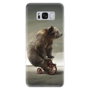 Silikonové pouzdro iSaprio (mléčně zakalené) Medvěd 01 na mobil Samsung Galaxy S8
