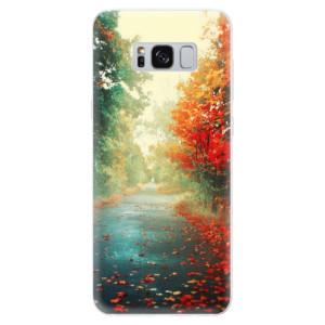 Silikonové pouzdro iSaprio (mléčně zakalené) Podzim 03 na mobil Samsung Galaxy S8