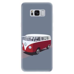 Silikonové pouzdro iSaprio (mléčně zakalené) VW Bus na mobil Samsung Galaxy S8