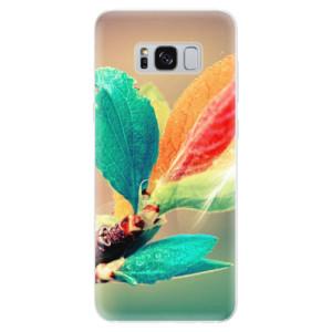 Silikonové pouzdro iSaprio (mléčně zakalené) Podzim 02 na mobil Samsung Galaxy S8