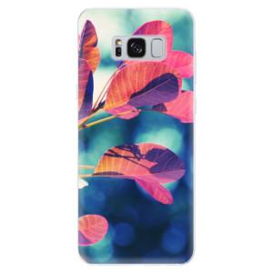 Silikonové pouzdro iSaprio (mléčně zakalené) Podzim 01 na mobil Samsung Galaxy S8
