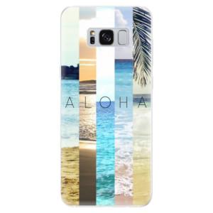 Silikonové pouzdro iSaprio (mléčně zakalené) Aloha 02 na mobil Samsung Galaxy S8