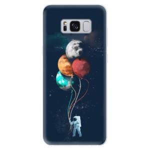 Silikonové pouzdro iSaprio (mléčně zakalené) Balónky 02 na mobil Samsung Galaxy S8