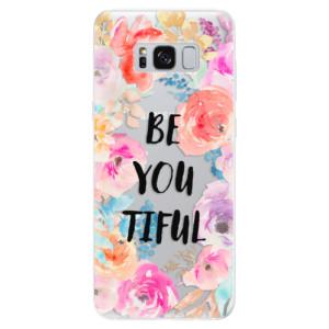 Silikonové pouzdro iSaprio (mléčně zakalené) BeYouTiful na mobil Samsung Galaxy S8