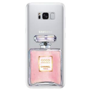 Silikonové pouzdro iSaprio (mléčně zakalené) Chanel Rose na mobil Samsung Galaxy S8