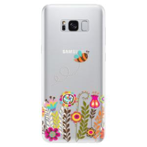 Silikonové pouzdro iSaprio (mléčně zakalené) Včelka Pája 01 na mobil Samsung Galaxy S8