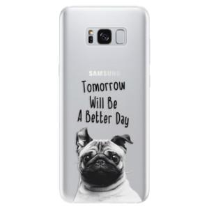 Silikonové pouzdro iSaprio (mléčně zakalené) Better Day 01 na mobil Samsung Galaxy S8