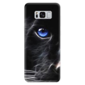 Silikonové pouzdro iSaprio (mléčně zakalené) Black Puma na mobil Samsung Galaxy S8