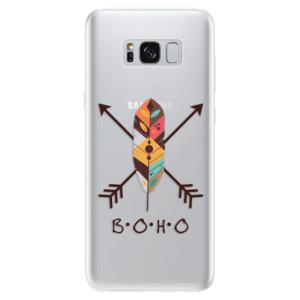 Silikonové pouzdro iSaprio (mléčně zakalené) BOHO na mobil Samsung Galaxy S8