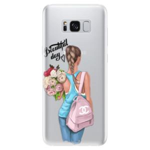 Silikonové pouzdro iSaprio (mléčně zakalené) Beautiful Day na mobil Samsung Galaxy S8