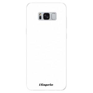 Silikonové pouzdro iSaprio 4Pure bílé na mobil Samsung Galaxy S8