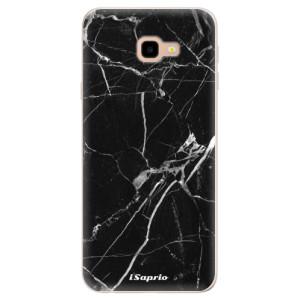 Silikonové pouzdro iSaprio (mléčně zakalené) Black Marble 18 na mobil Samsung Galaxy J4 Plus