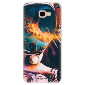 Silikonové pouzdro iSaprio (mléčně zakalené) Astronaut 01 na mobil Samsung Galaxy J4 Plus