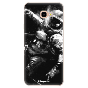 Silikonové pouzdro iSaprio (mléčně zakalené) Astronaut 02 na mobil Samsung Galaxy J4 Plus