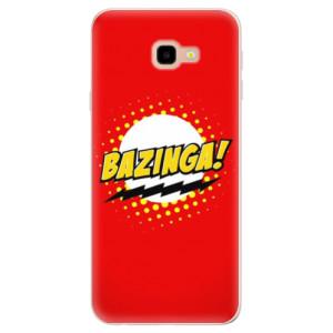 Silikonové pouzdro iSaprio (mléčně zakalené) Bazinga 01 na mobil Samsung Galaxy J4 Plus