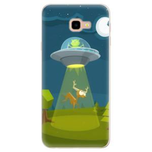 Silikonové pouzdro iSaprio (mléčně zakalené) Ufouni 01 na mobil Samsung Galaxy J4 Plus