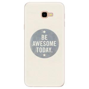 Silikonové pouzdro iSaprio (mléčně zakalené) Awesome 02 na mobil Samsung Galaxy J4 Plus