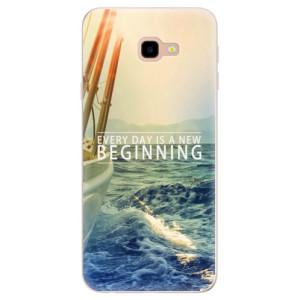 Silikonové pouzdro iSaprio (mléčně zakalené) Beginning na mobil Samsung Galaxy J4 Plus