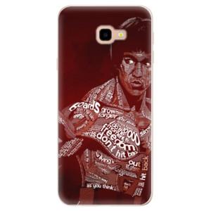 Silikonové pouzdro iSaprio (mléčně zakalené) Bruce Lee na mobil Samsung Galaxy J4 Plus