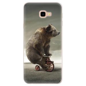 Silikonové pouzdro iSaprio (mléčně zakalené) Medvěd 01 na mobil Samsung Galaxy J4 Plus