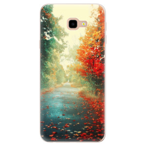 Silikonové pouzdro iSaprio (mléčně zakalené) Podzim 03 na mobil Samsung Galaxy J4 Plus