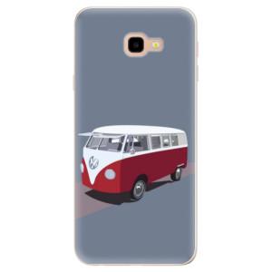 Silikonové pouzdro iSaprio (mléčně zakalené) VW Bus na mobil Samsung Galaxy J4 Plus