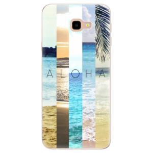 Silikonové pouzdro iSaprio (mléčně zakalené) Aloha 02 na mobil Samsung Galaxy J4 Plus