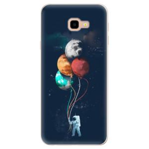 Silikonové pouzdro iSaprio (mléčně zakalené) Balónky 02 na mobil Samsung Galaxy J4 Plus