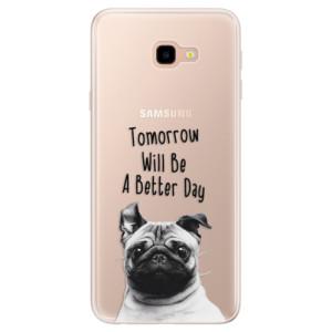 Silikonové pouzdro iSaprio (mléčně zakalené) Better Day 01 na mobil Samsung Galaxy J4 Plus