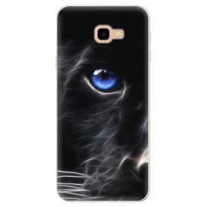 Silikonové pouzdro iSaprio (mléčně zakalené) Black Puma na mobil Samsung Galaxy J4 Plus