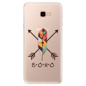 Silikonové pouzdro iSaprio (mléčně zakalené) BOHO na mobil Samsung Galaxy J4 Plus