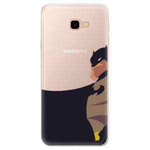 Silikonové pouzdro iSaprio (mléčně zakalené) BaT Komiks na mobil Samsung Galaxy J4 Plus