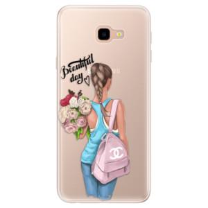 Silikonové pouzdro iSaprio (mléčně zakalené) Beautiful Day na mobil Samsung Galaxy J4 Plus