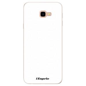 Silikonové pouzdro iSaprio 4Pure bílé na mobil Samsung Galaxy J4 Plus