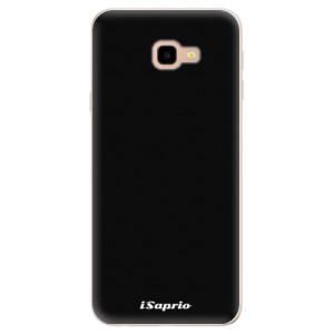 Silikonové pouzdro iSaprio 4Pure černé na mobil Samsung Galaxy J4 Plus