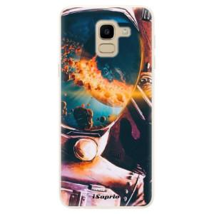 Silikonové pouzdro iSaprio (mléčně zakalené) Astronaut 01 na mobil Samsung Galaxy J6